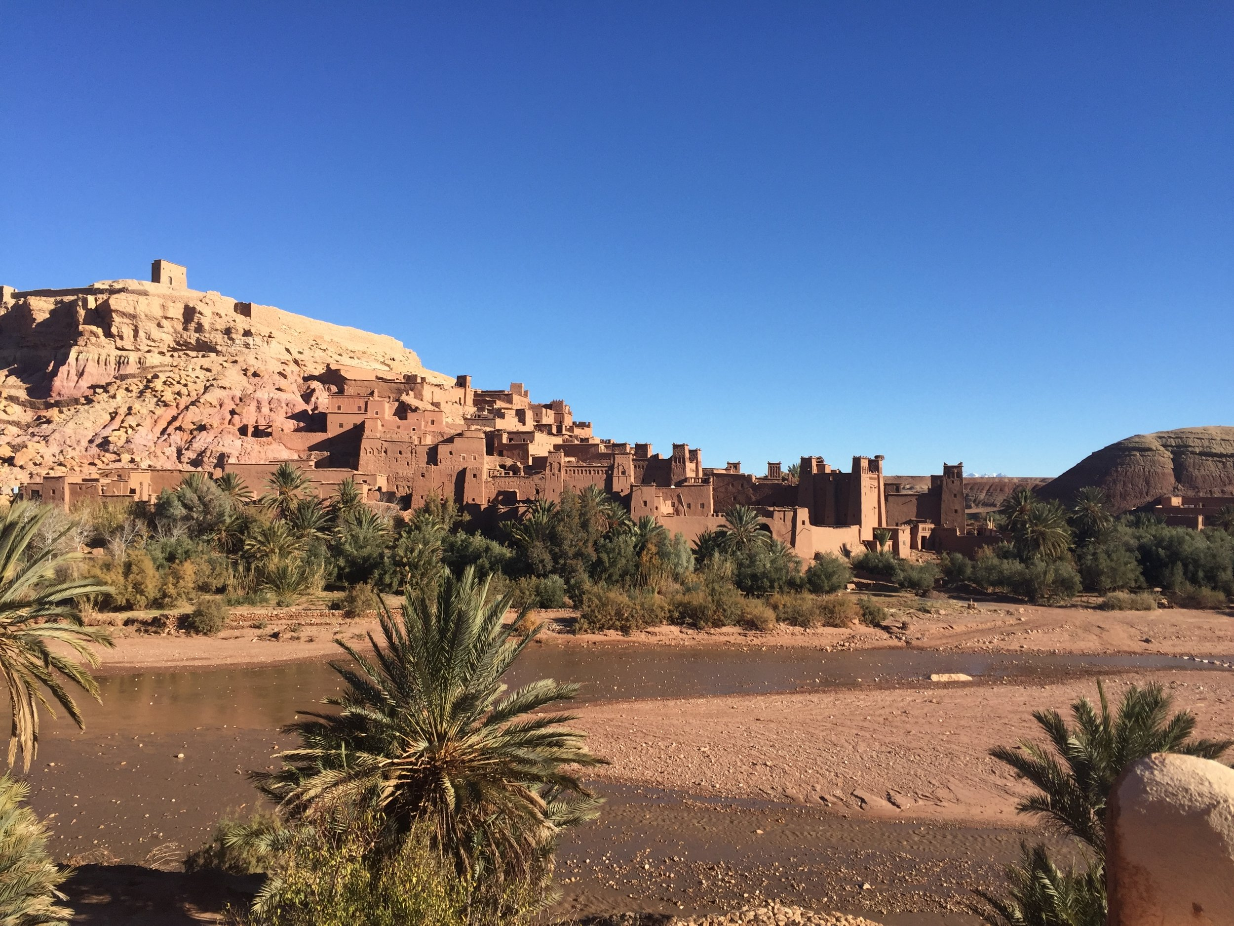 Ait Ben Haddou - Situated on what was probably the country's most popular caravan trade route lies the village of Ait Ben Haddou, so rich in history UNESCO even said so. Get lost in the maze-like walled village, and maybe even climb to the top!