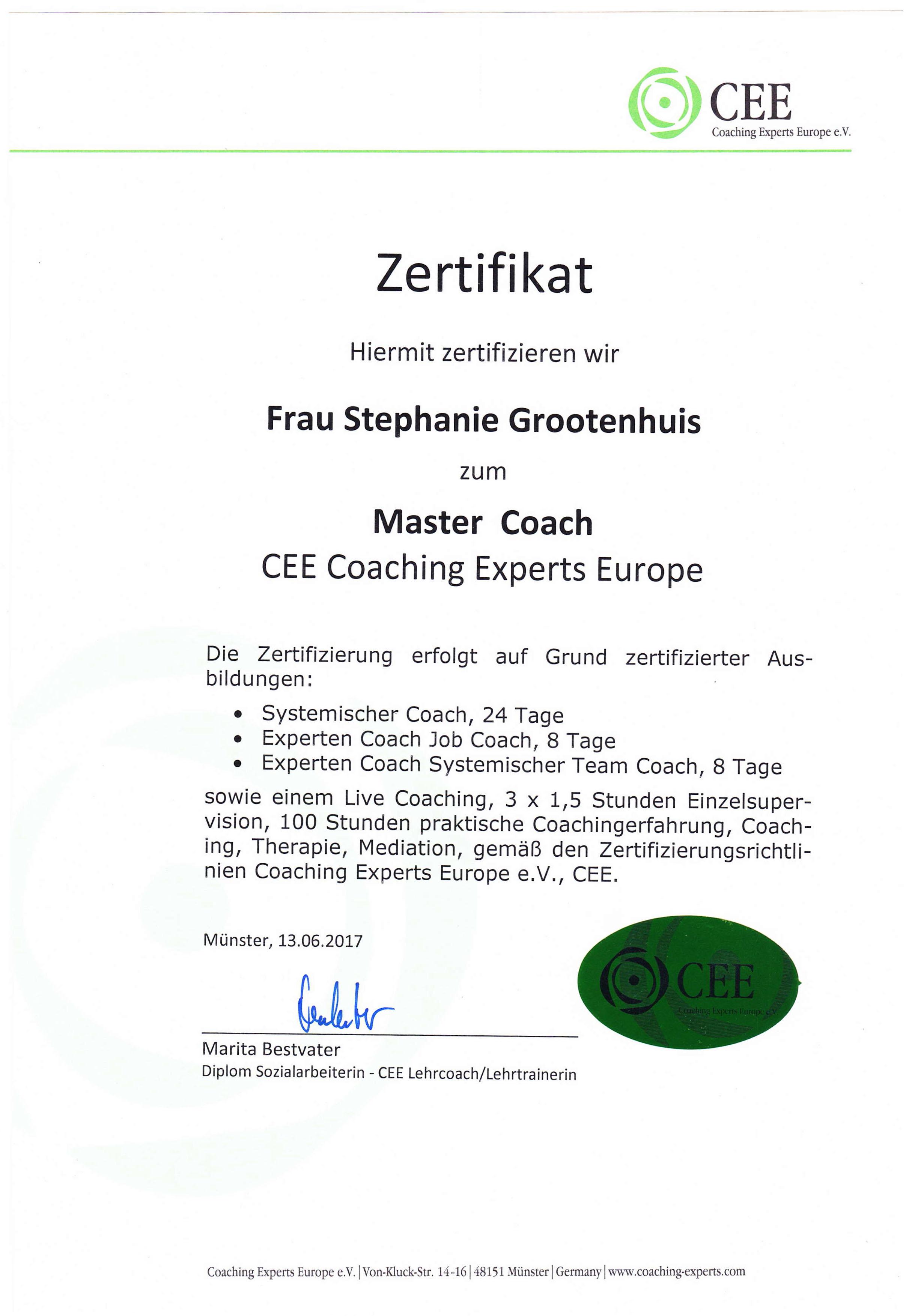 Systemischer Coach, Experten Coach, Master Coach www.jetzt-job-coach.de