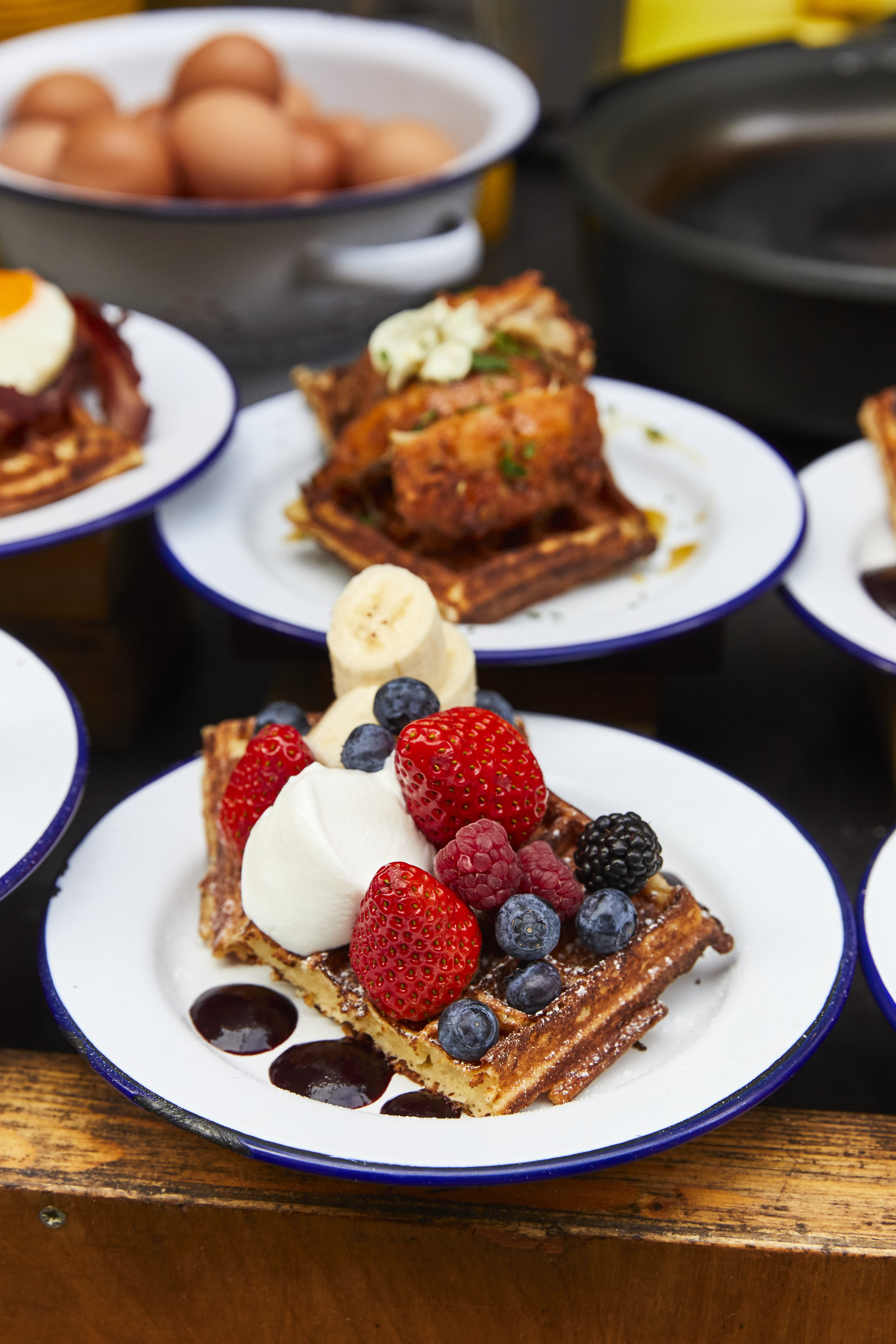 Waffle On - Berry Medley buttermilk fried chicken with maple butter.jpg