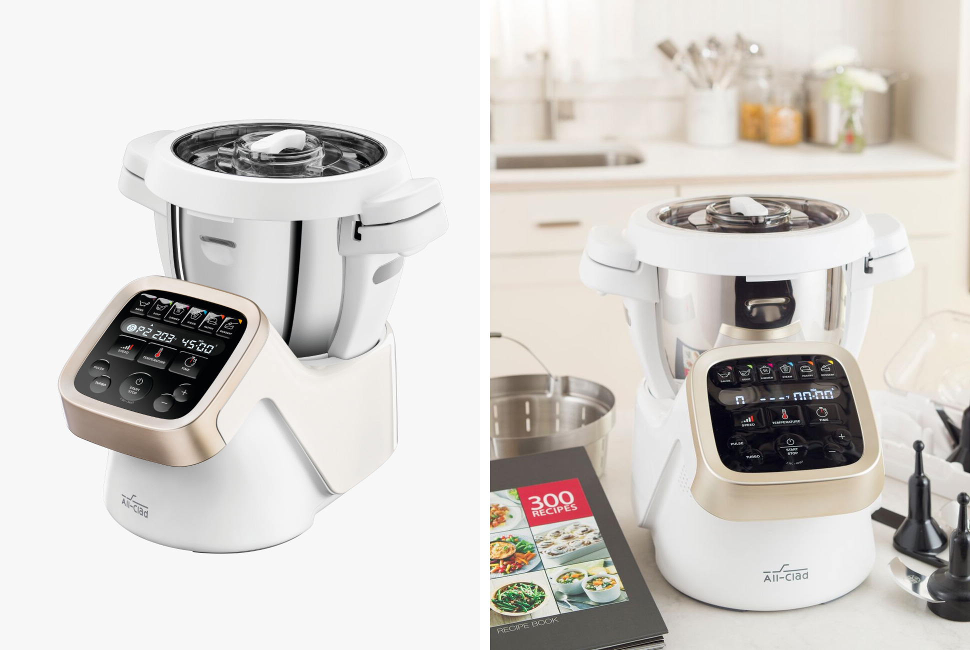 All-Clad Prep and Cook - combines mixing, chopping, simmering, steaming into one device