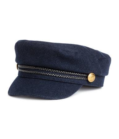H&M Captain's Cap- Dark Blue