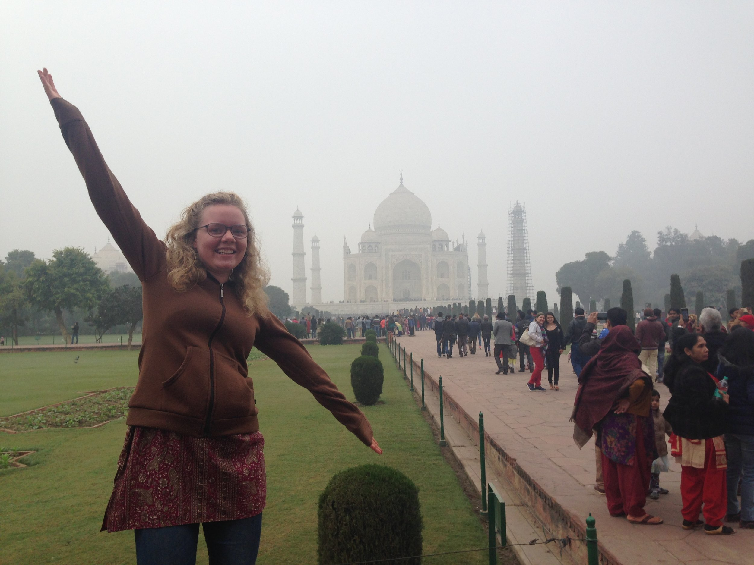 Anastasia, North Carolina to India