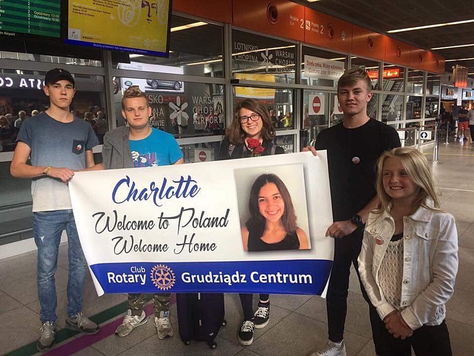Charlotte, Michigan to Poland
