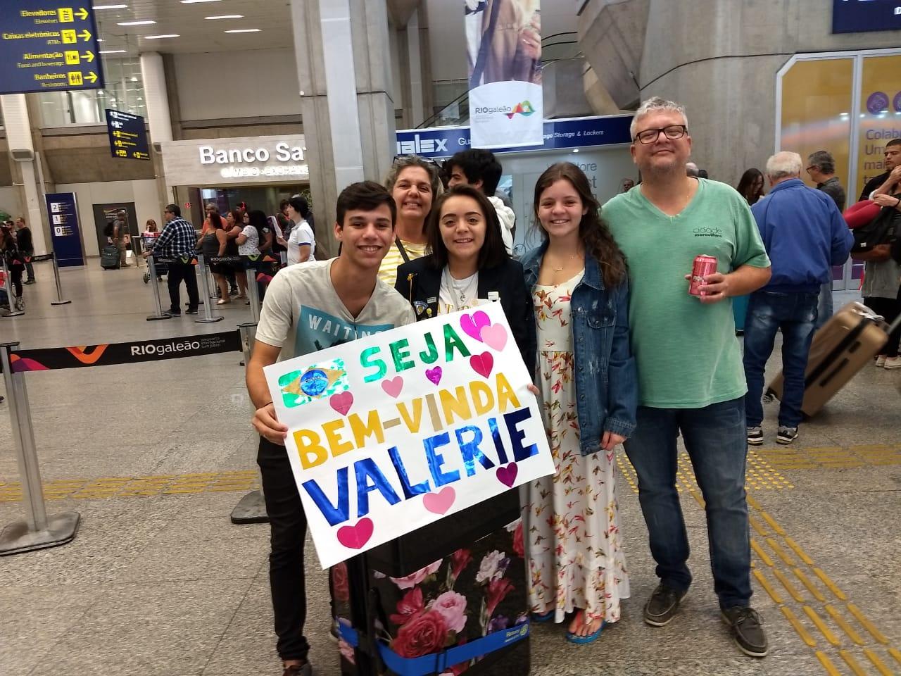 Valerie, Colorado to Brazil