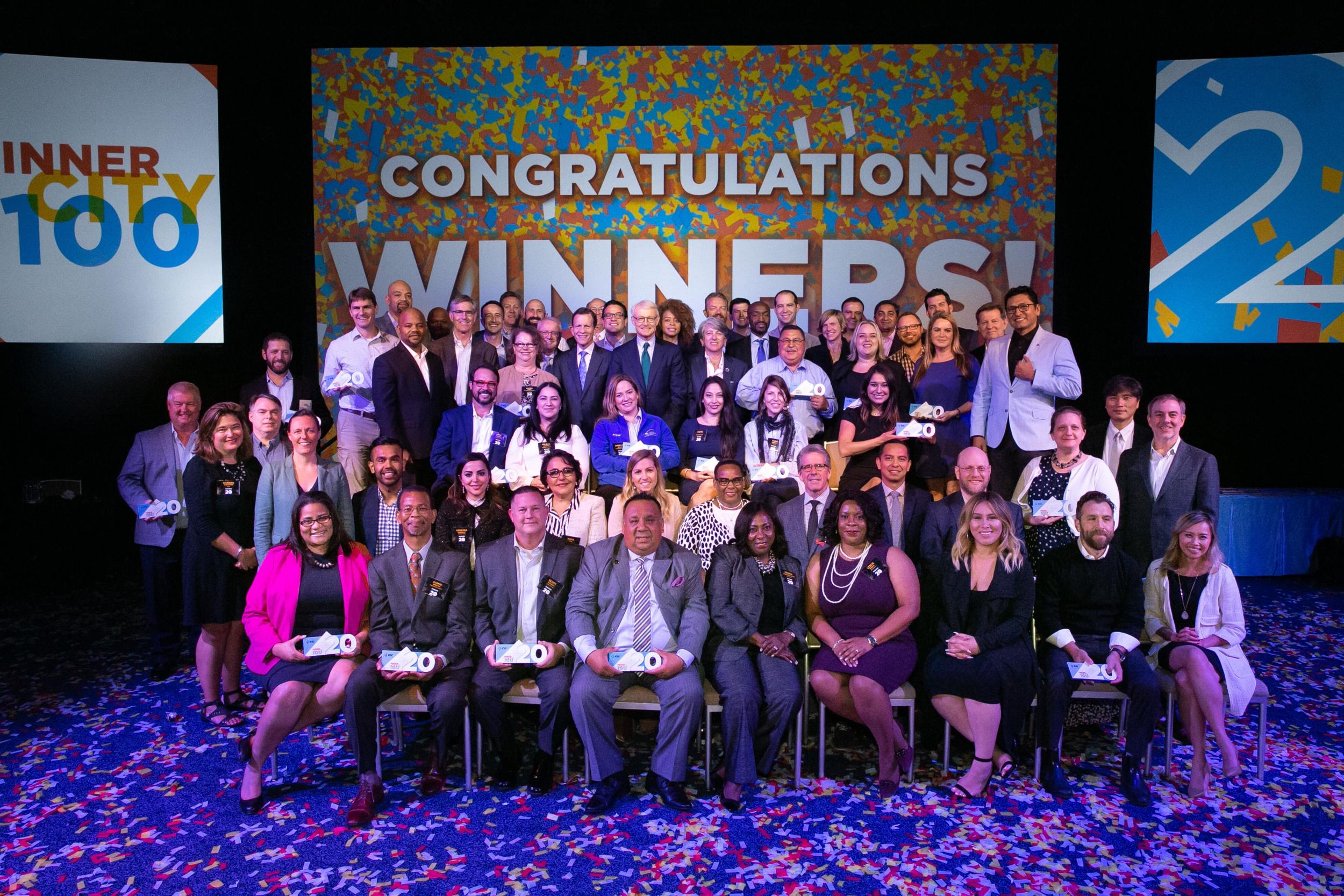 Inner City 100 Class of 2018 Boston, MA