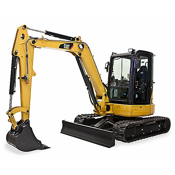 CAT 305.5E CR MINI HYDRAULIC EXCAVATOR  Gross Power: 44.2 hp Operating Weight: 12,000 lbs              View Specifications