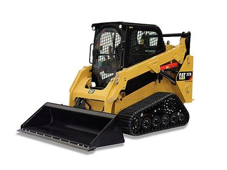 CAT 257D MULTI TERRAIN LOADER  Gross Power: 74.3 hp Operating Weight: 8,048 lbs    View Specifications