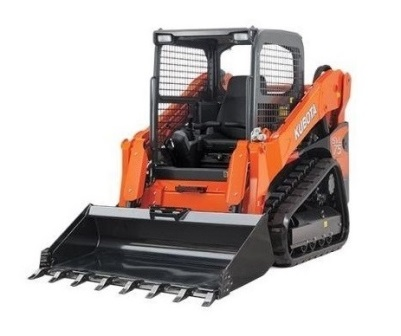 KUBOTA SVL75 COMPACT TRACK LOADER  Gross Power: 75 hp Operating Weight: 9,315 lbs    View Specifications