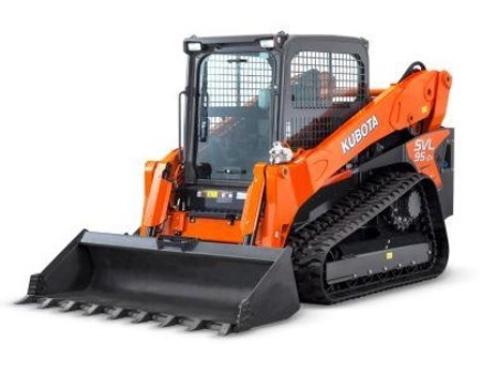 KUBOTA SVL95 COMPACT TRACK LOADER  Gross Power: 96.4 hp Operating Weight: 11,574 lbs    View Specifications