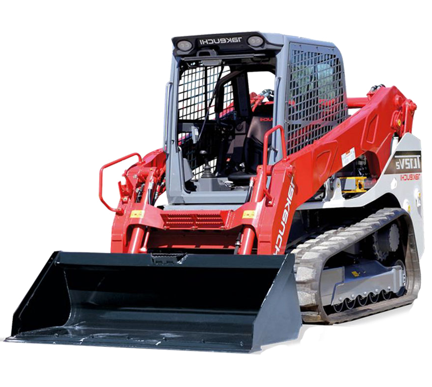 TAKEUCHI TL12V2 COMPACT TRACK LOADER  Gross Power: 111 hp Operating Weight: 13,190 lbs   View Specifications
