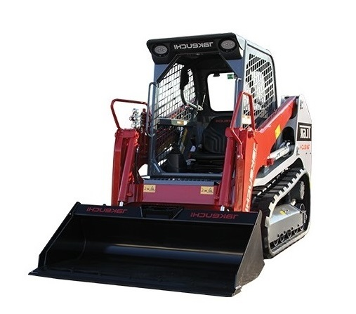 TAKEUCHI TL6R COMPACT TRACK LOADER  Gross Power: 65.2 hp Operating Weight: 7,780 lbs   View Specifications