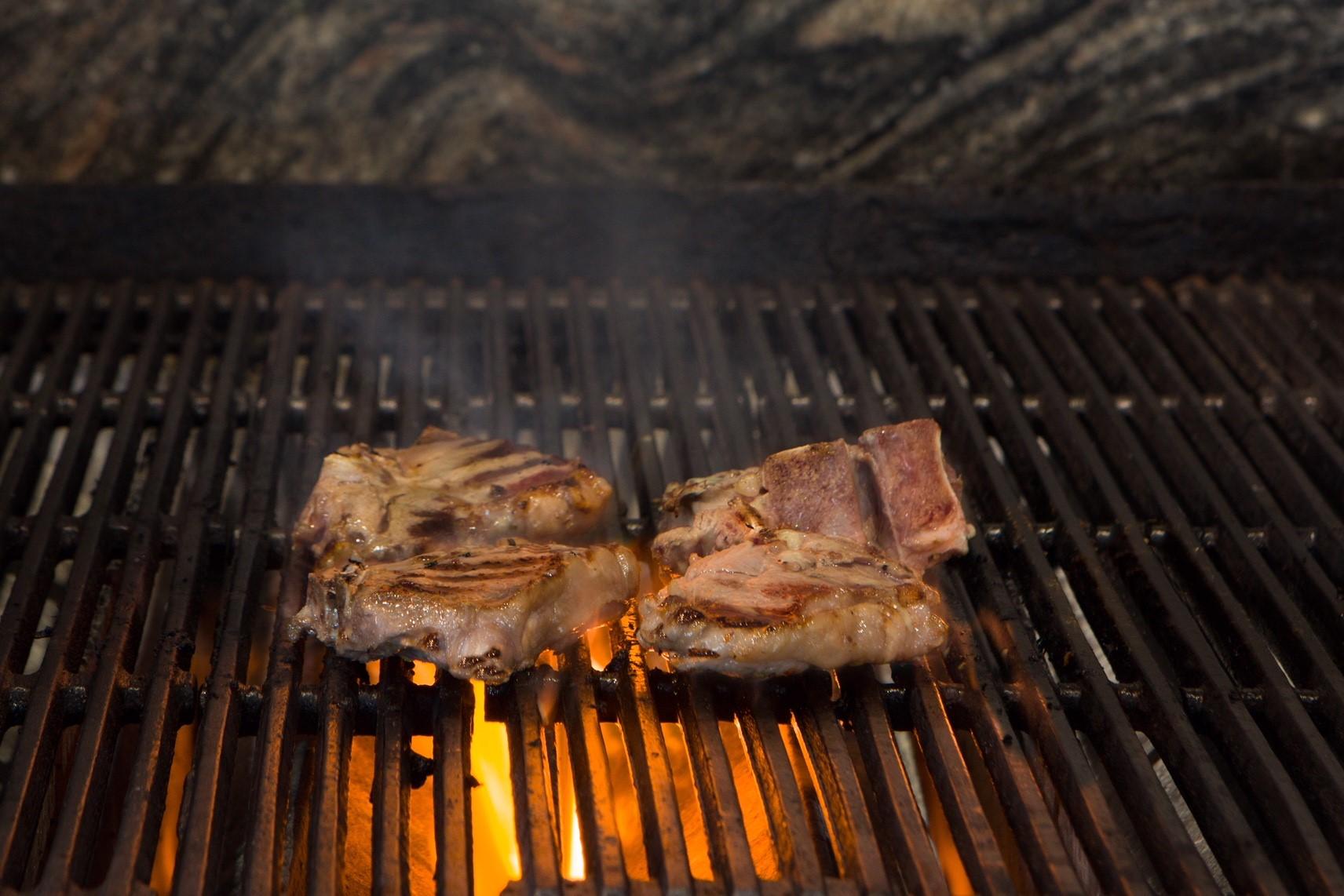 Grilled Lamb Chops $4.95 each