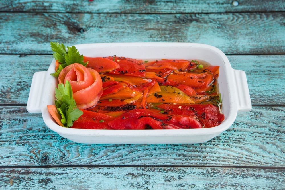 Grilled Peppers $4.95