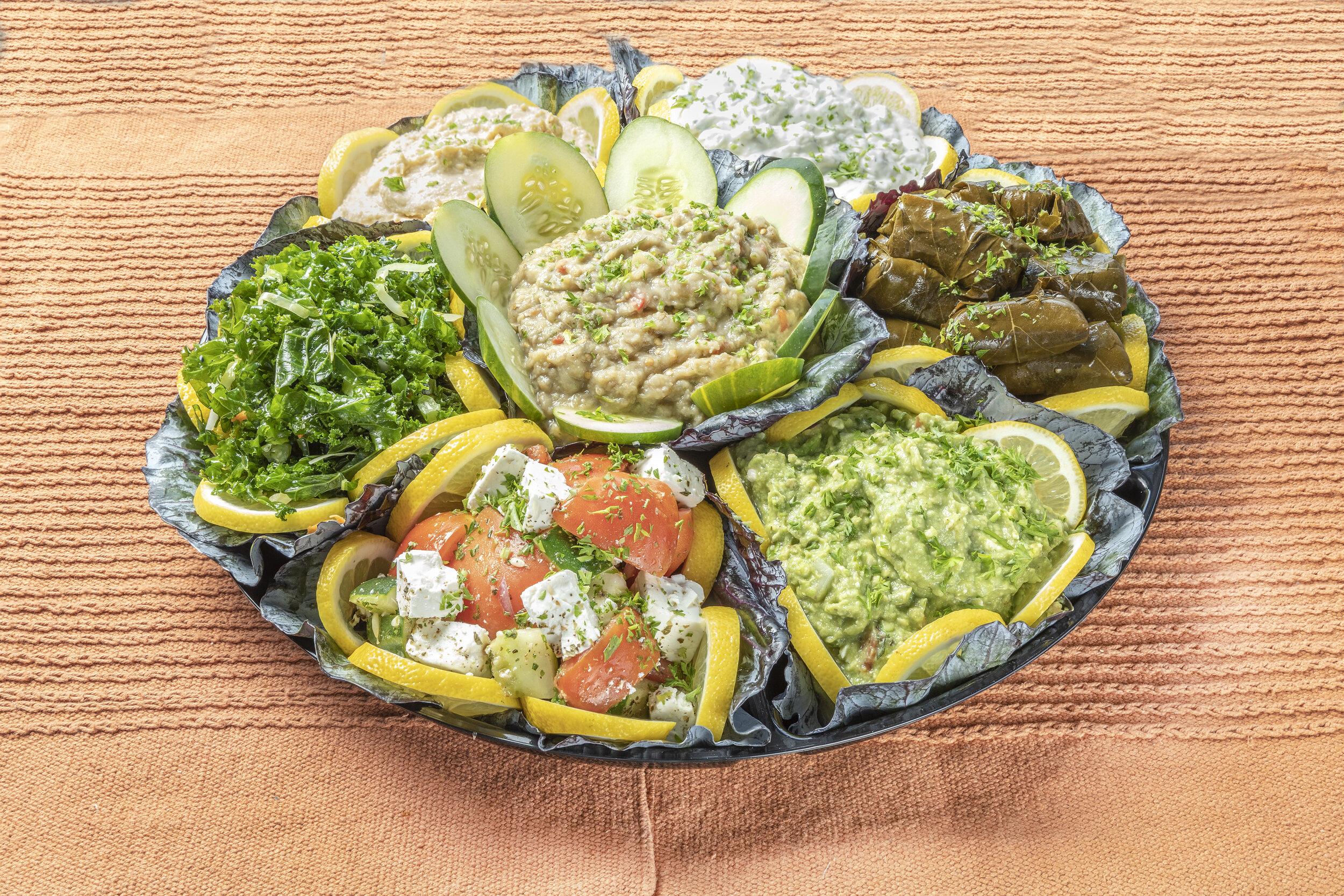 farm grill appetizer sampler platter