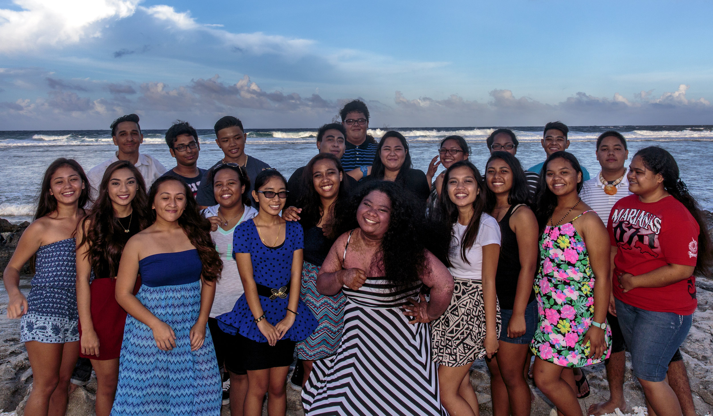 The 2017 Founding Class of Million Dollar Scholars. Kagman High School, Saipan, Northern Mariana Islands