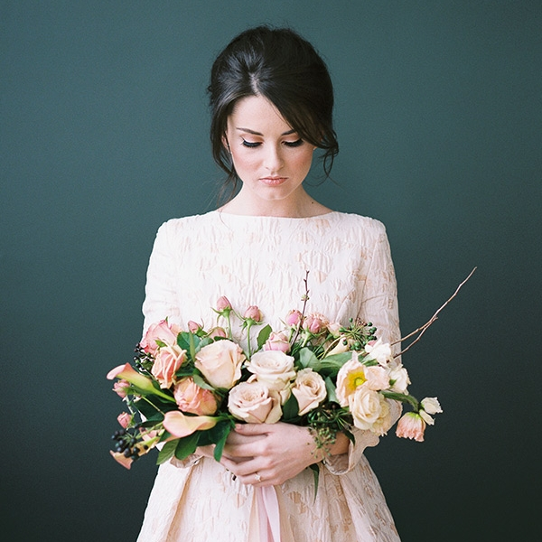 Magnolia Peach Gown