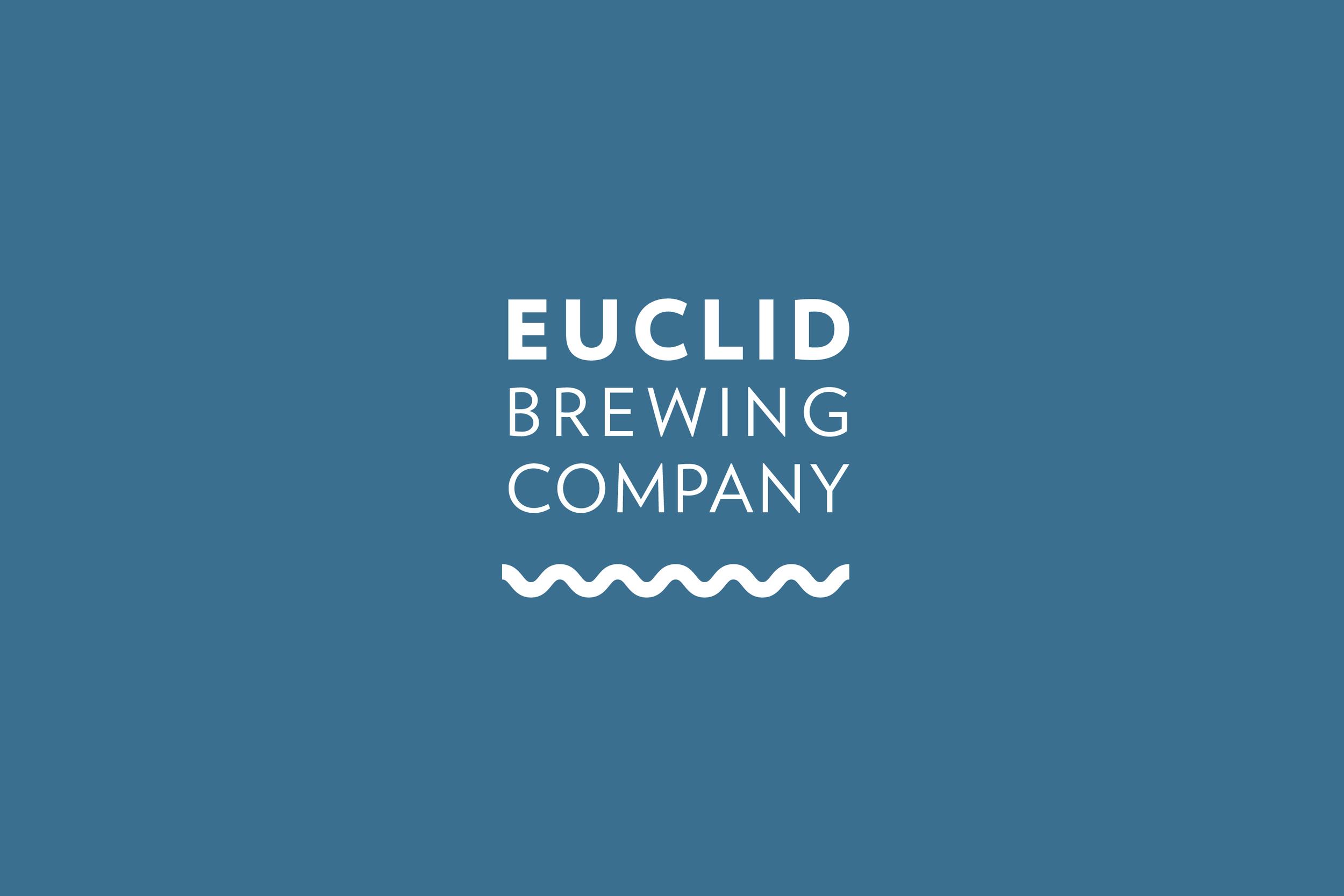Agnes Studio Euclid Brewing branding