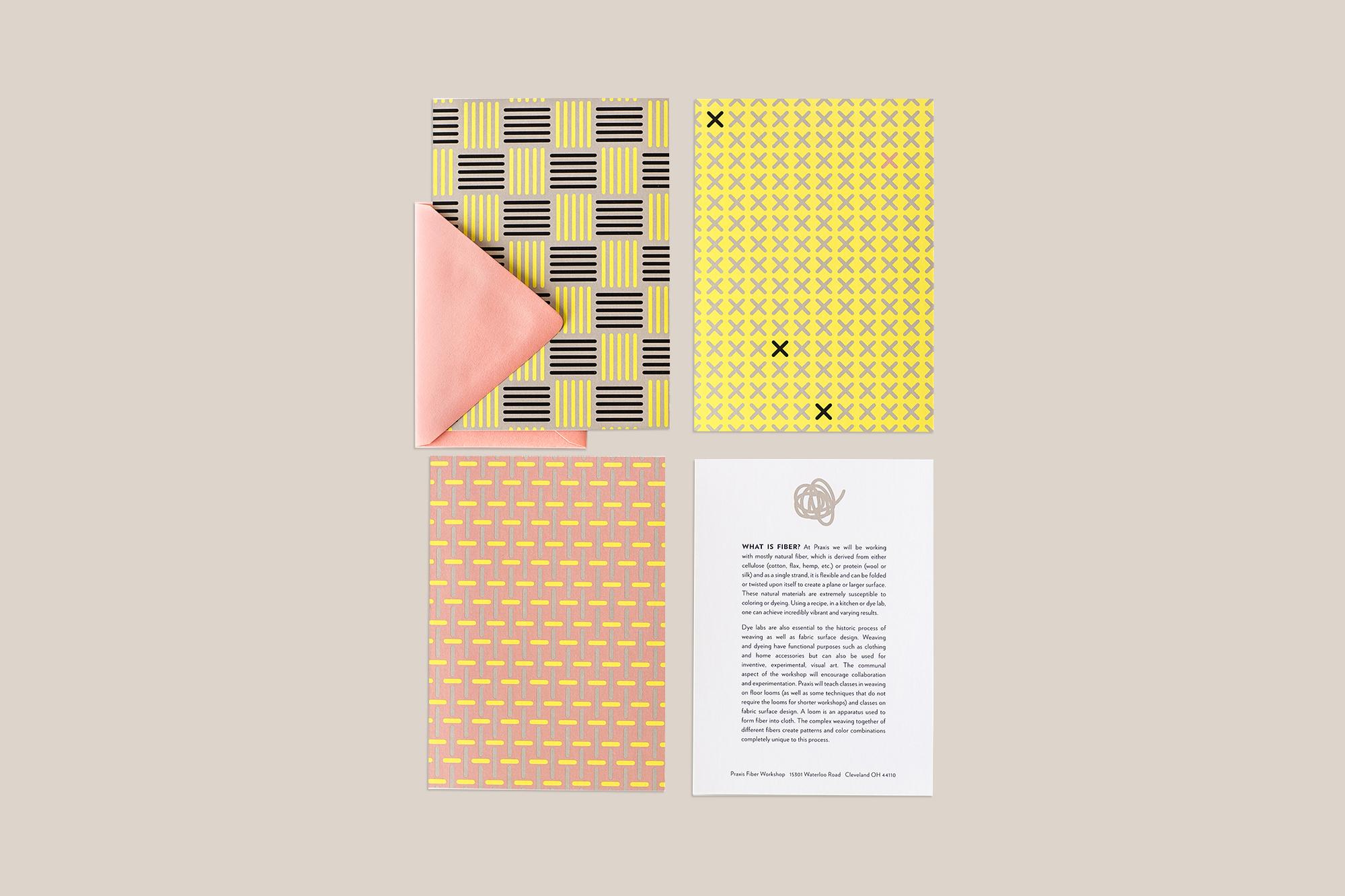 Agnes Studio Praxis Fiber Workshop notecards