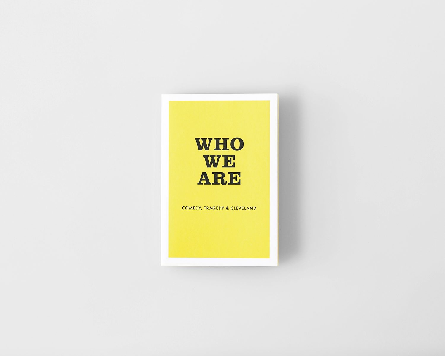 Agnes Studio Who We Are: Comedy, Tragedy, & Cleveland postcard