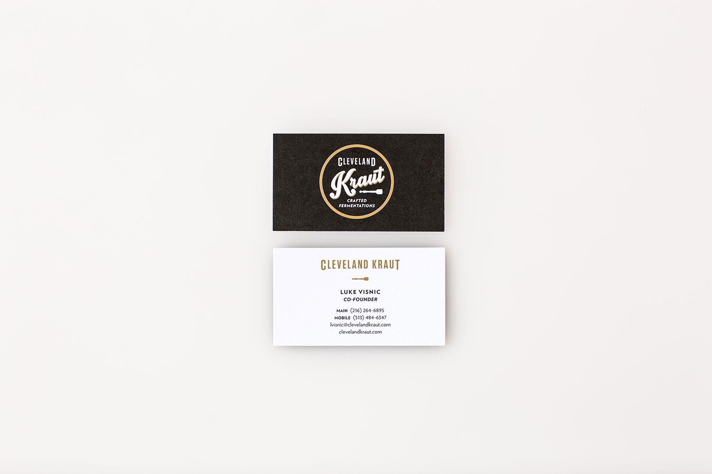 Agnes Studio Cleveland Kraut business card