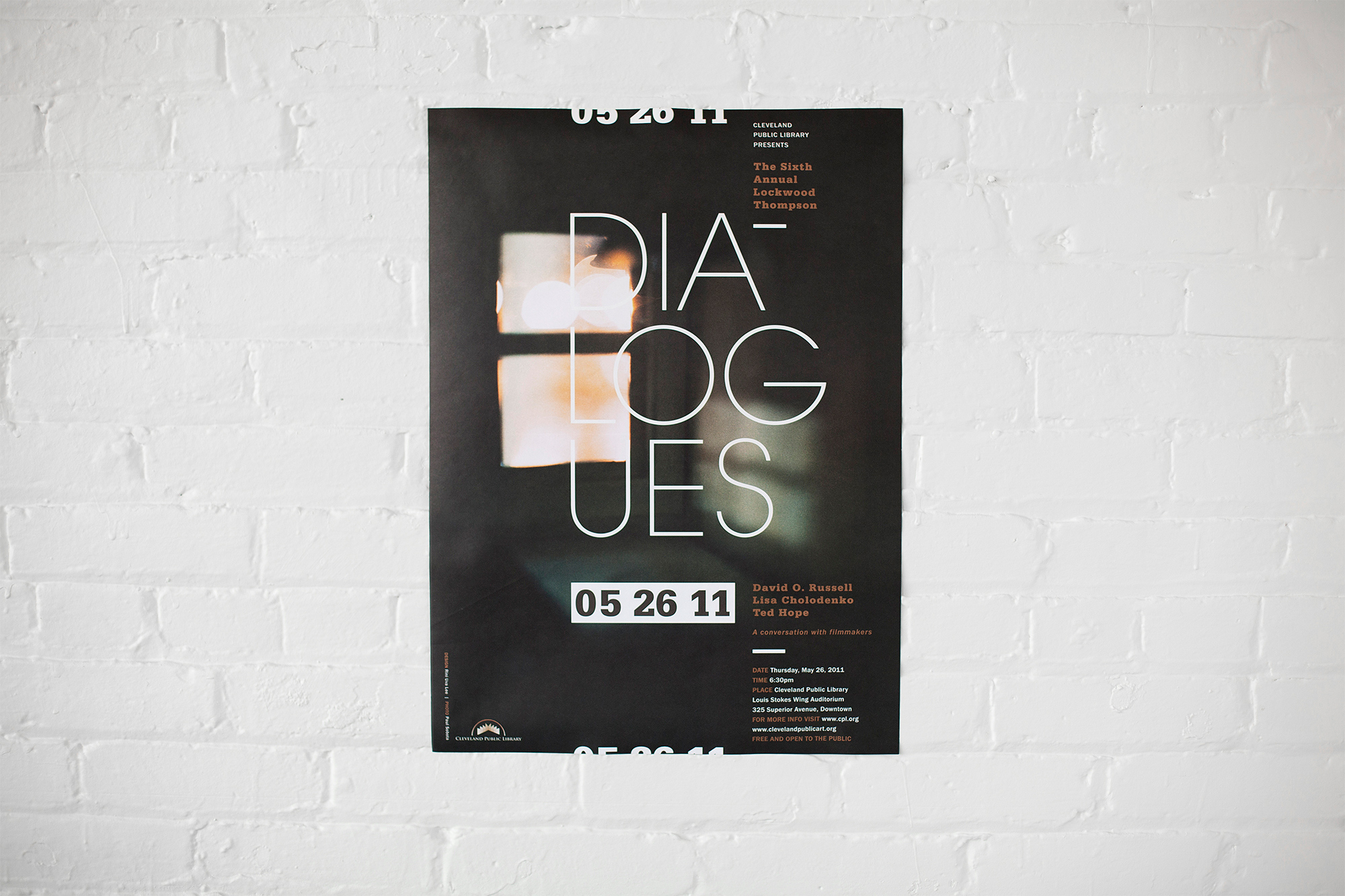 Agnes Studio Lockwood Thompson Dialogues Poster