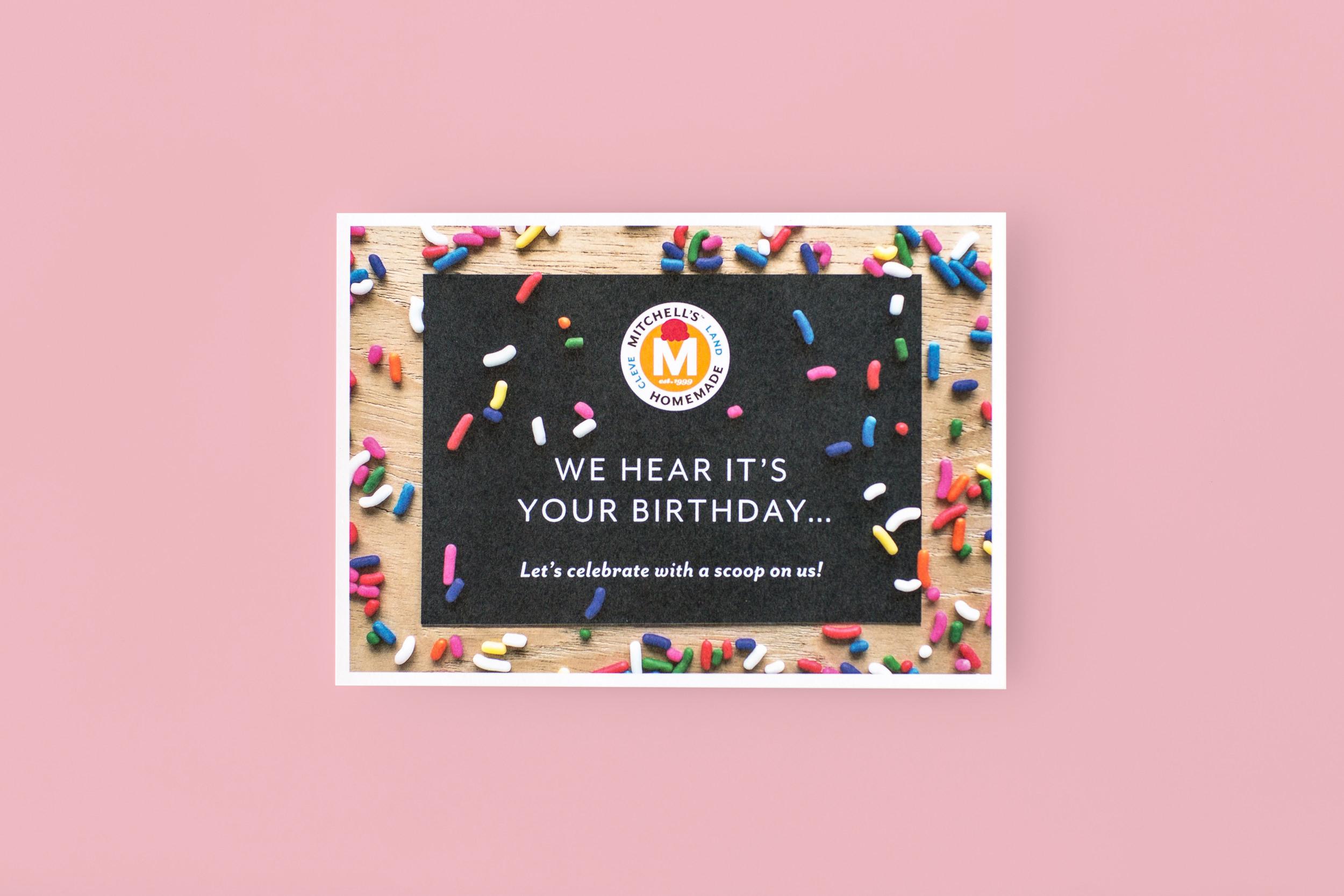 Agnes Studio Mitchell's Ice Cream birthday card