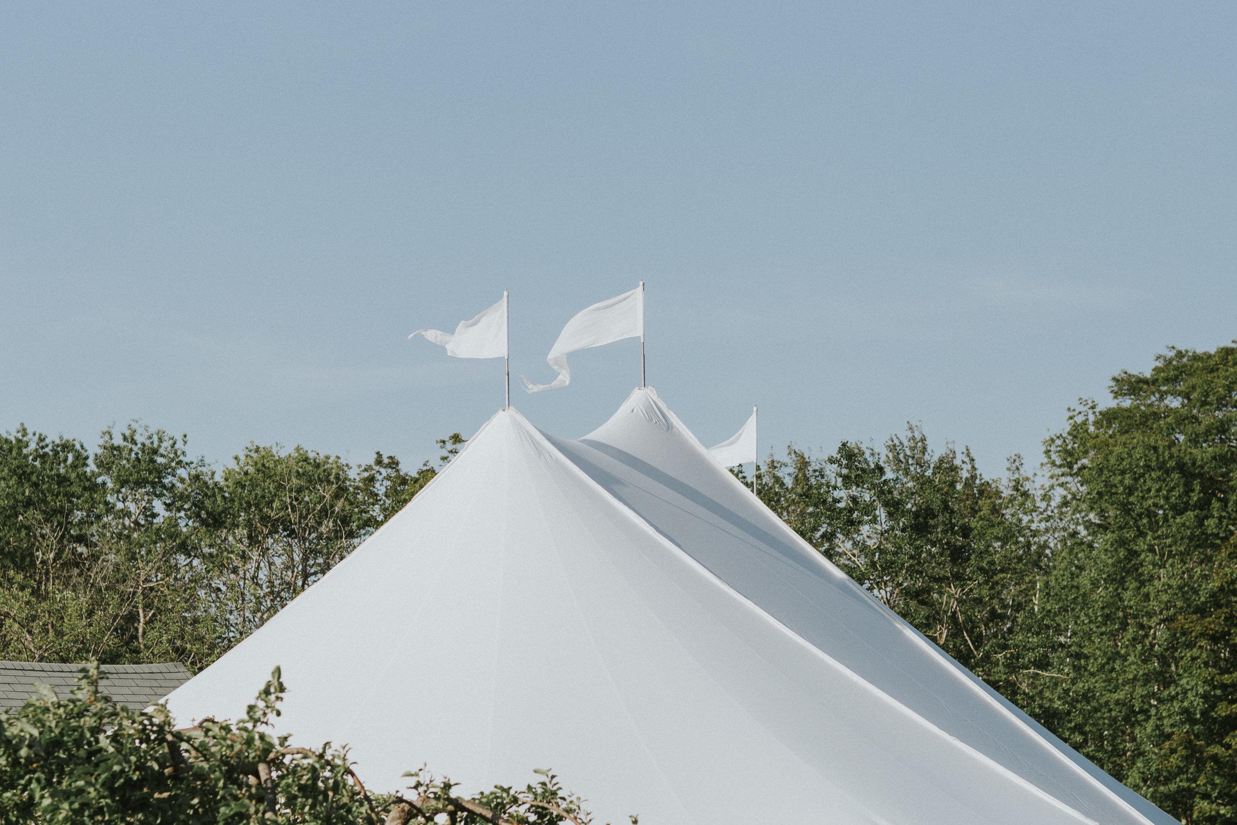 maine sailcloth tent summer