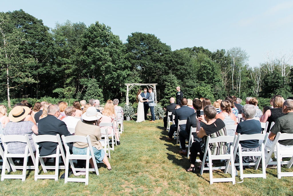 outdoor ceremony garden live well farm