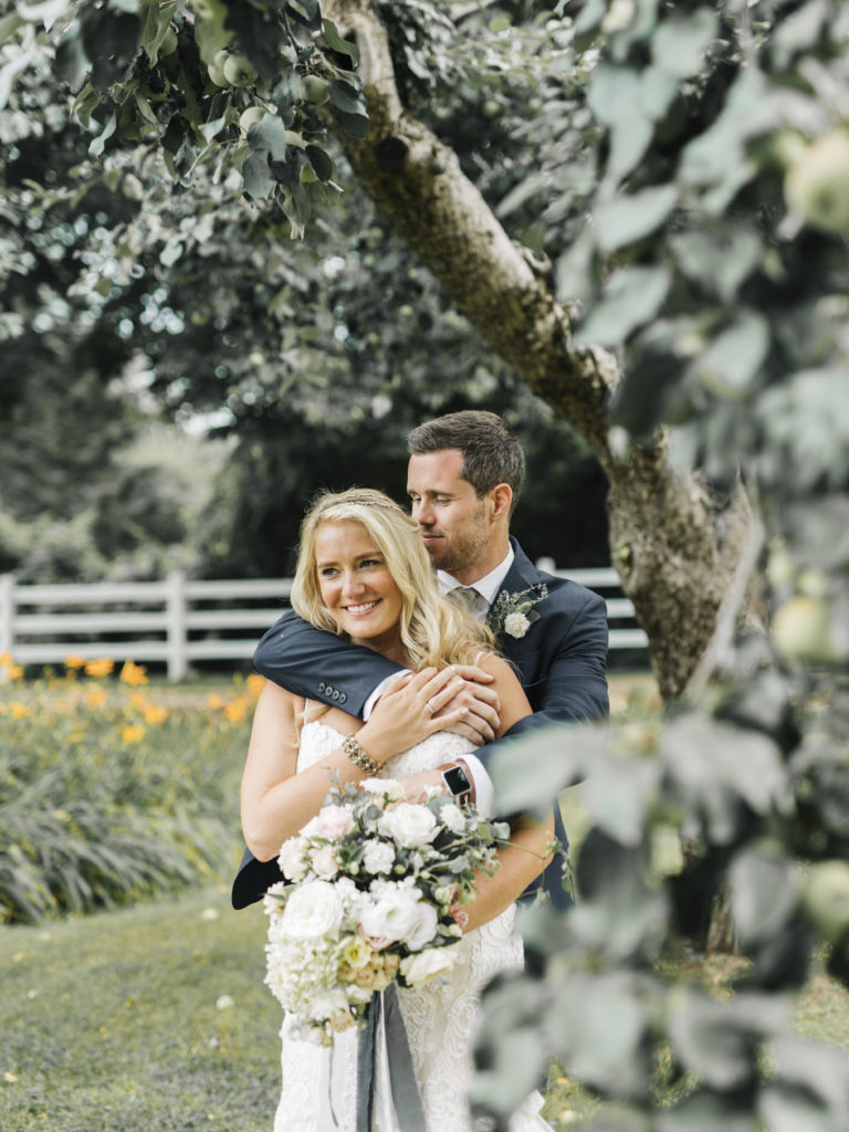 garden wedding live well farm