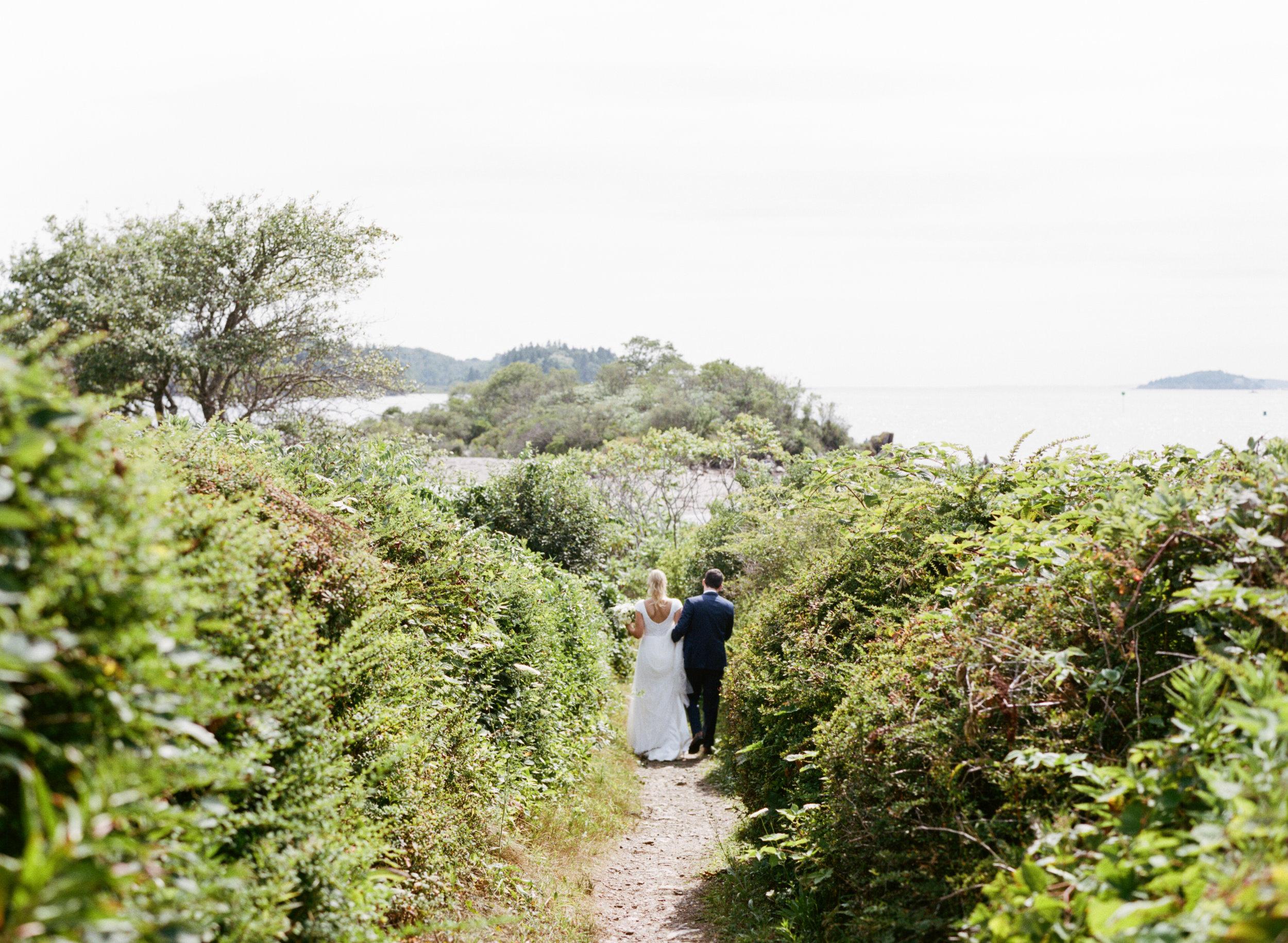 maine coast elegant wedding