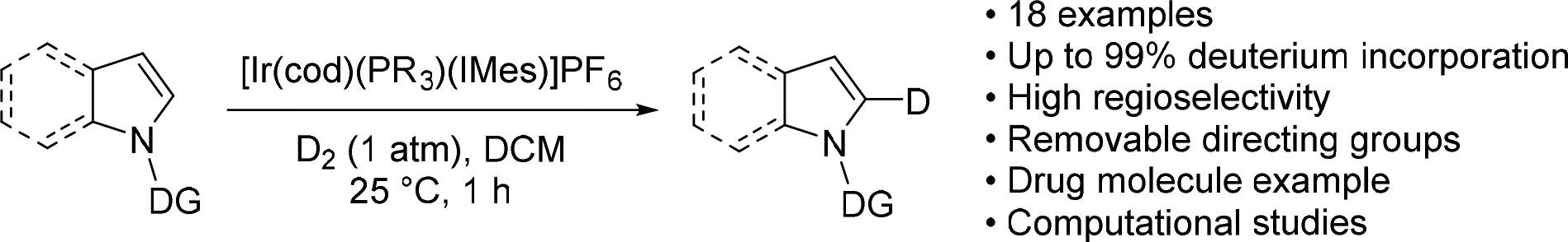 Site-Selective Deuteration of N-Heterocycles via Iridium-Catalyzed Hydrogen Isotope Exchange - ACS Catal. 2017, 7, 7182.