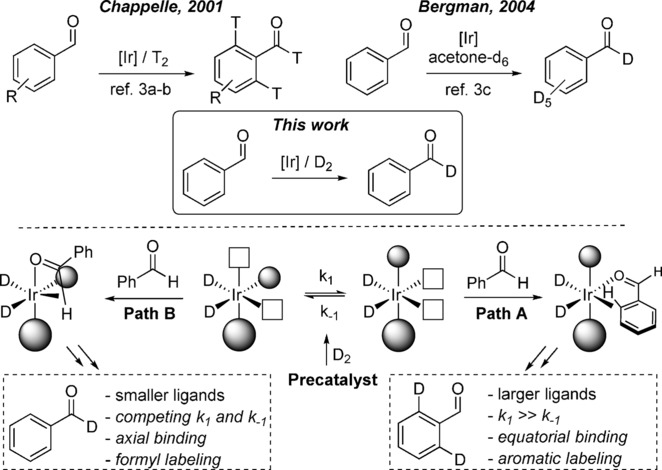 Iridium‐catalyzed Formyl‐Selective Deuteration of Aldehydes - Angew. Chem. Int. Ed. 2017, 56, 7808.