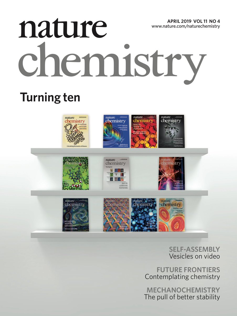 Charting the Course of Chemistry - Nature Chem. 2019, 11, 286.