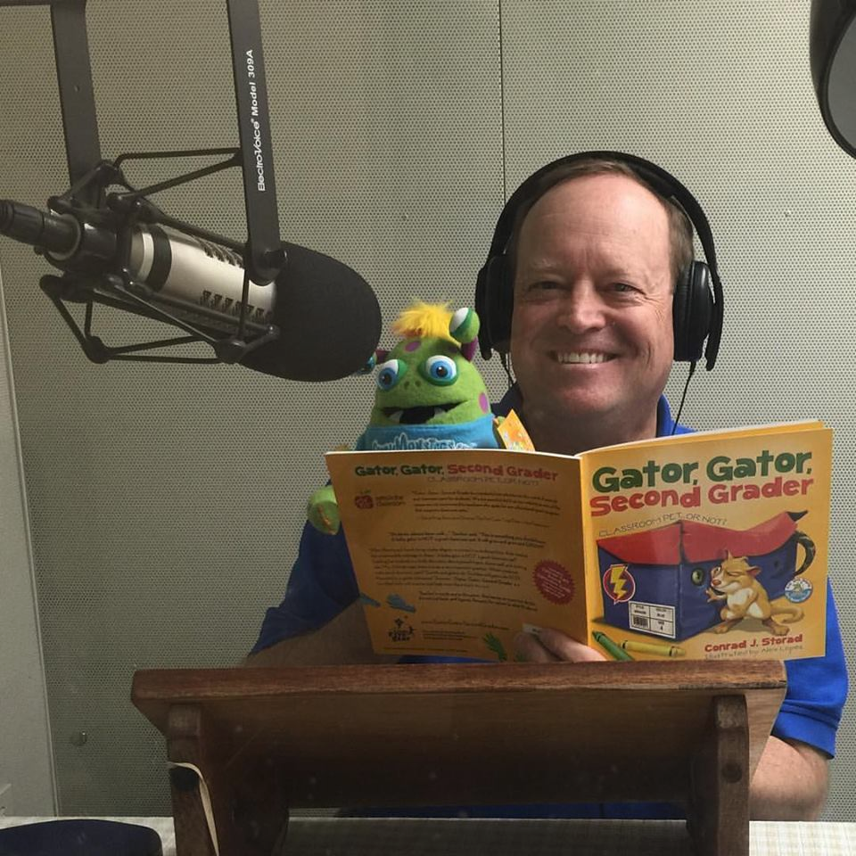 Arizona Talking Book Library with Conrad J. Storad