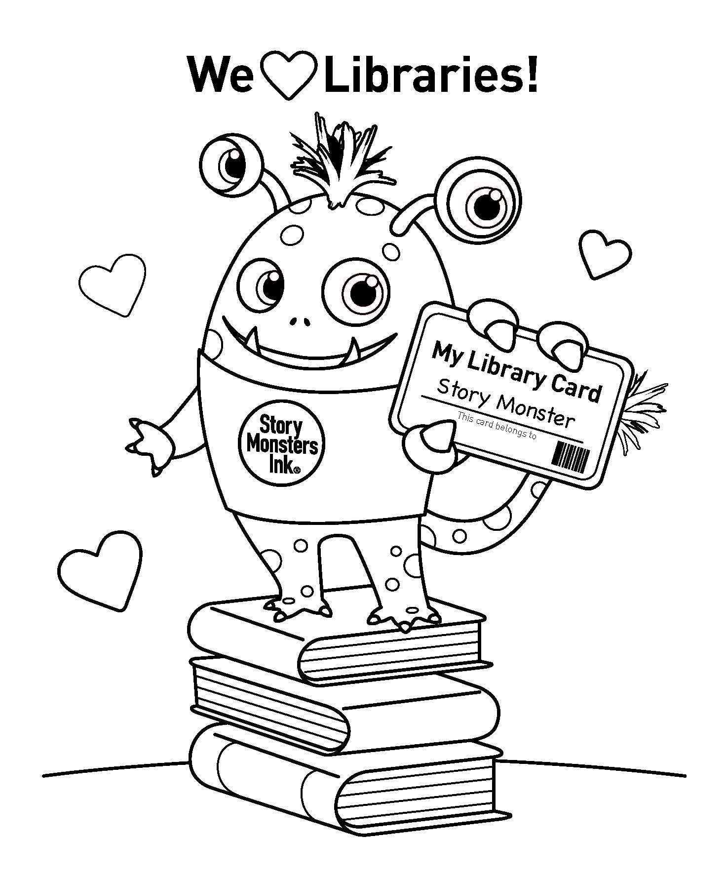 Story Monsters Coloring Contest — Story Monsters LLC