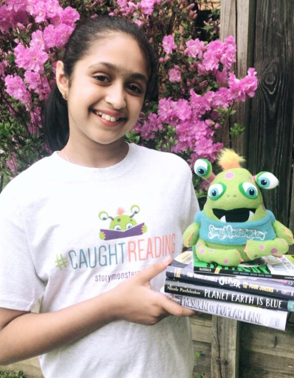 Meet 11-year-old Neha Praveen - Story Monsters Ink Official Ambassador