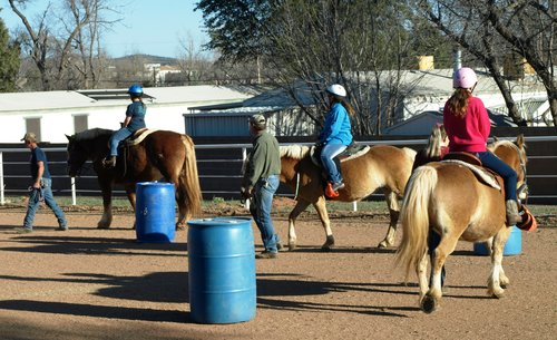 Riding Horses at the Deuker Ranch — Story Monsters LLC