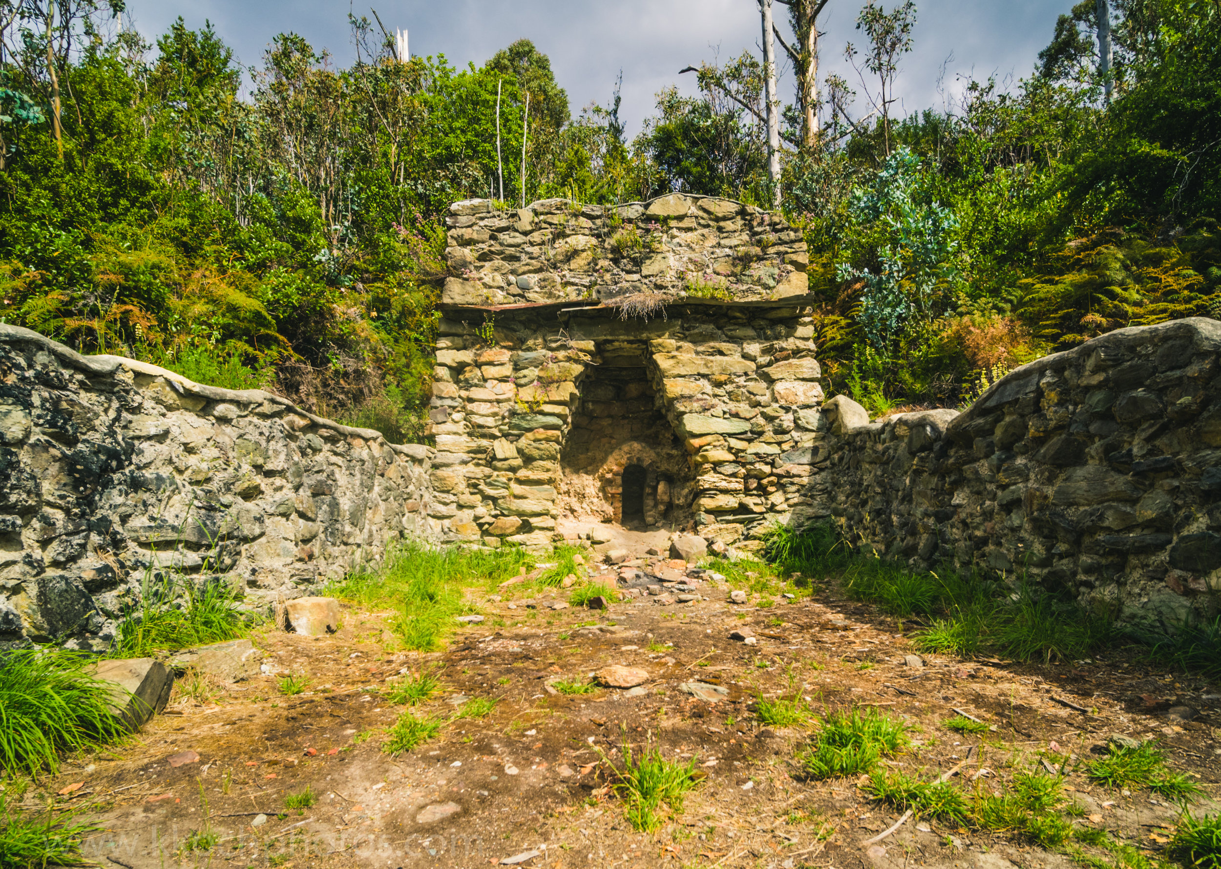 an old limestome kiln