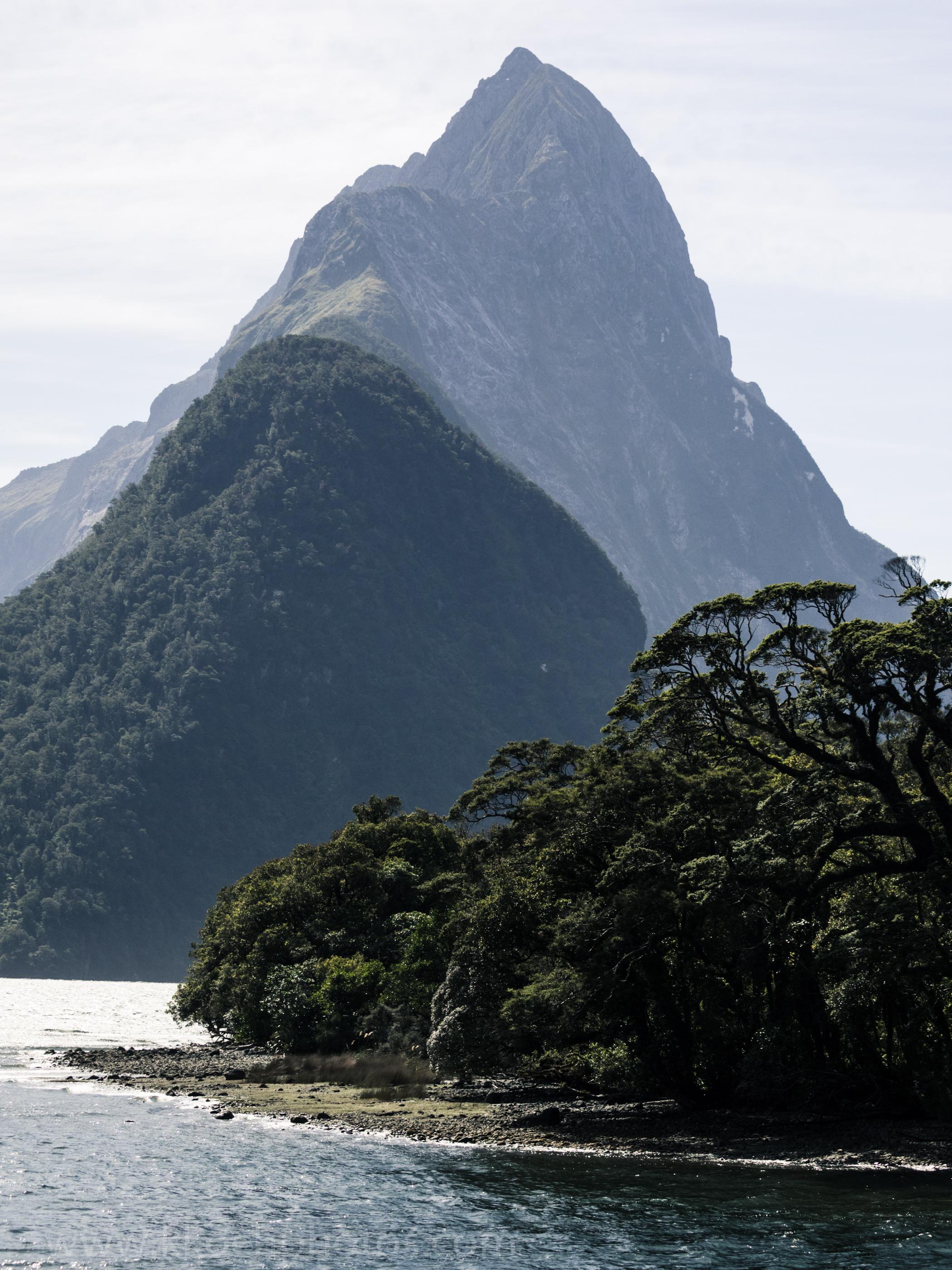 the famous Mitre Peak