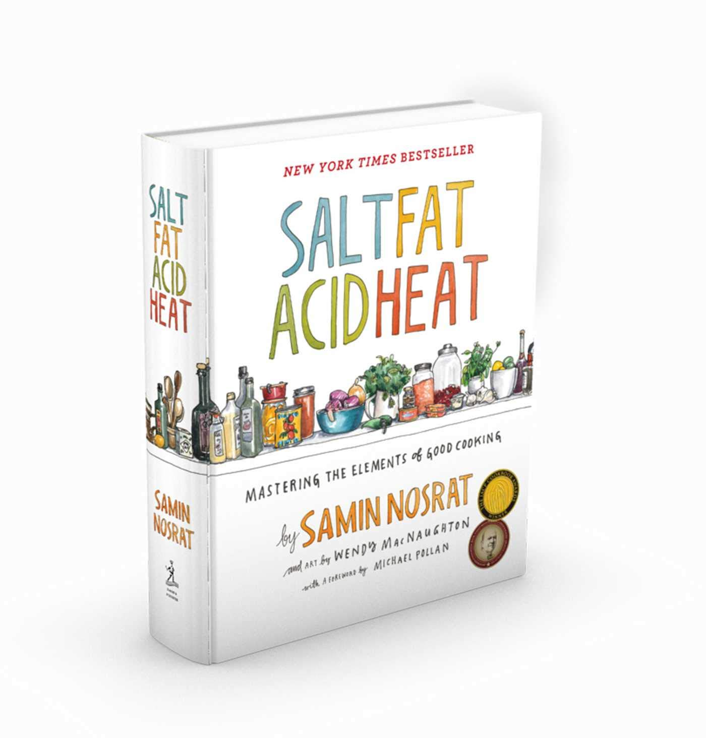 15.  Salt, Fat, Acid, Heat: Mastering the Elements of Good Cooking  This book not only teaches you the fundamentals of cooking, but also the science behind them, allowing you to understand WHY things taste good.