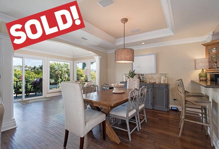 SOLD FOR $940,000   San Clemente  3 BR | 2 BTH | 1,700 SQ/FT