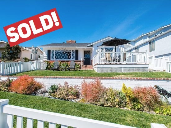 SOLD FOR $1,216,00   San Clemente  2 BR | 2 BTH | 1,600 SQ/FT