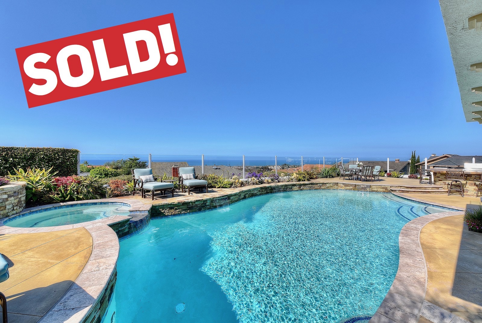 SOLD FOR $1,550,000   San Clemente  3 BR | 3 BTH | 2,777 SQ/FT