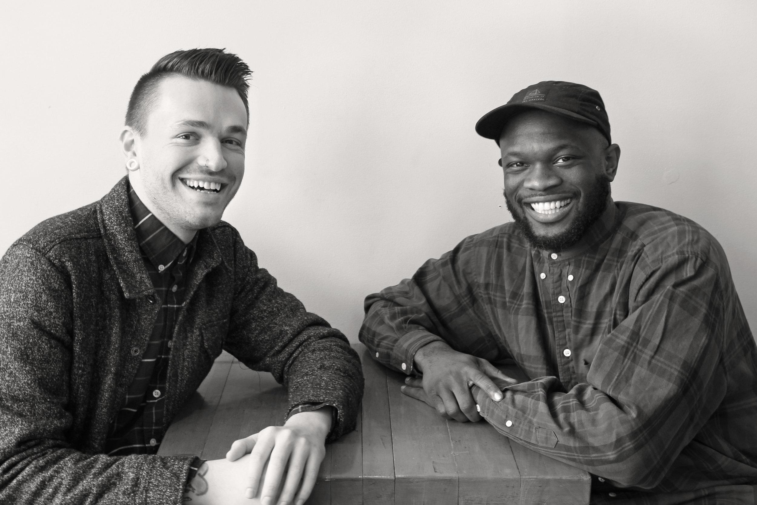 Chris Stedman and Ony Obiocha