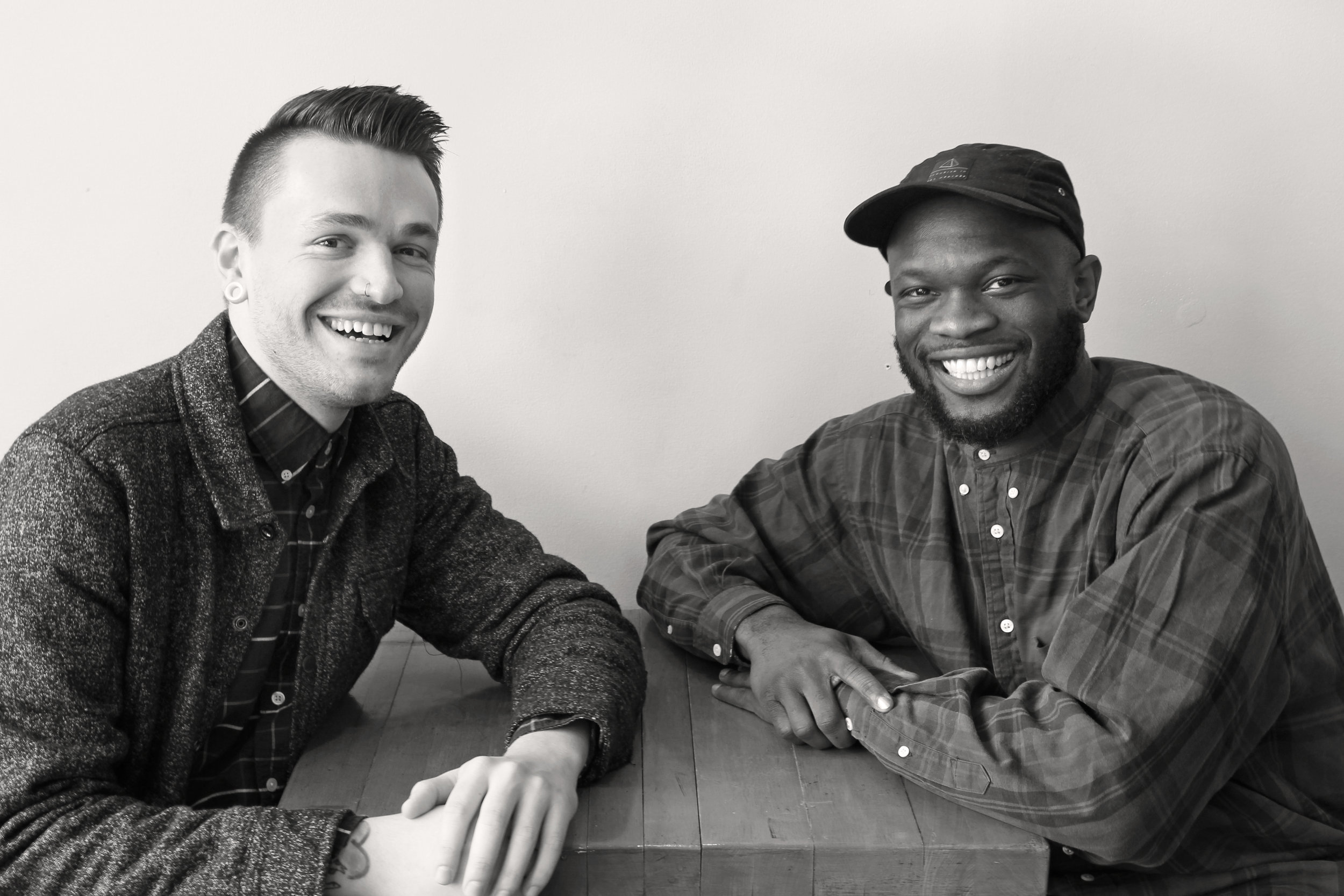 """Today on """"Grounded, A Humanist Radio Show"""" host Chris Stedman and Onyeka Obiocha discuss president Donald Trump's 1st week in office, and about their new years resolutions."""