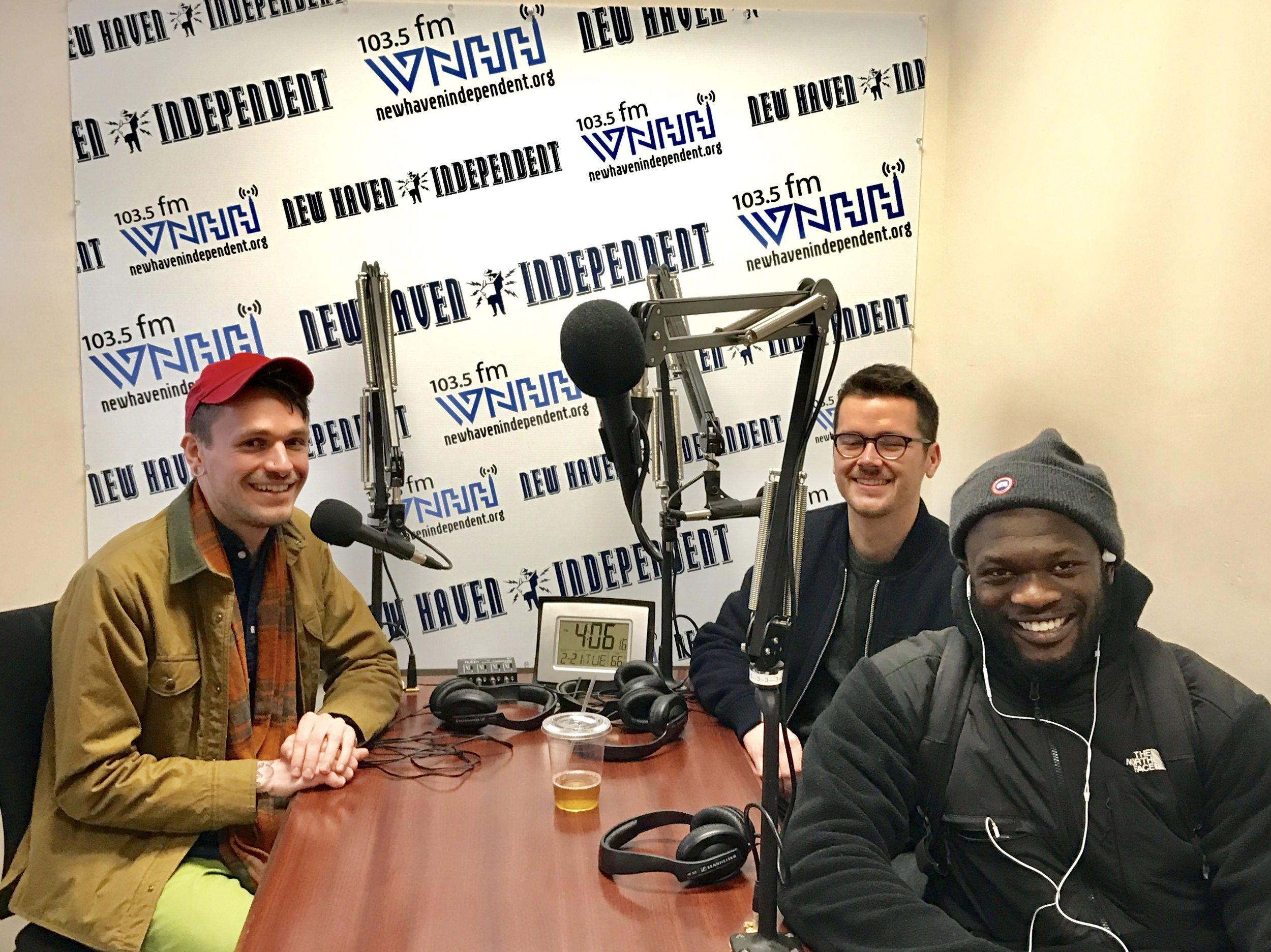 """Today on """"Grounded"""" host Chris Stedman and Onyeka Obiocha have a conversation about music, politics, and food with Reed Immer – Marketing Director at Junzi Kitchen."""