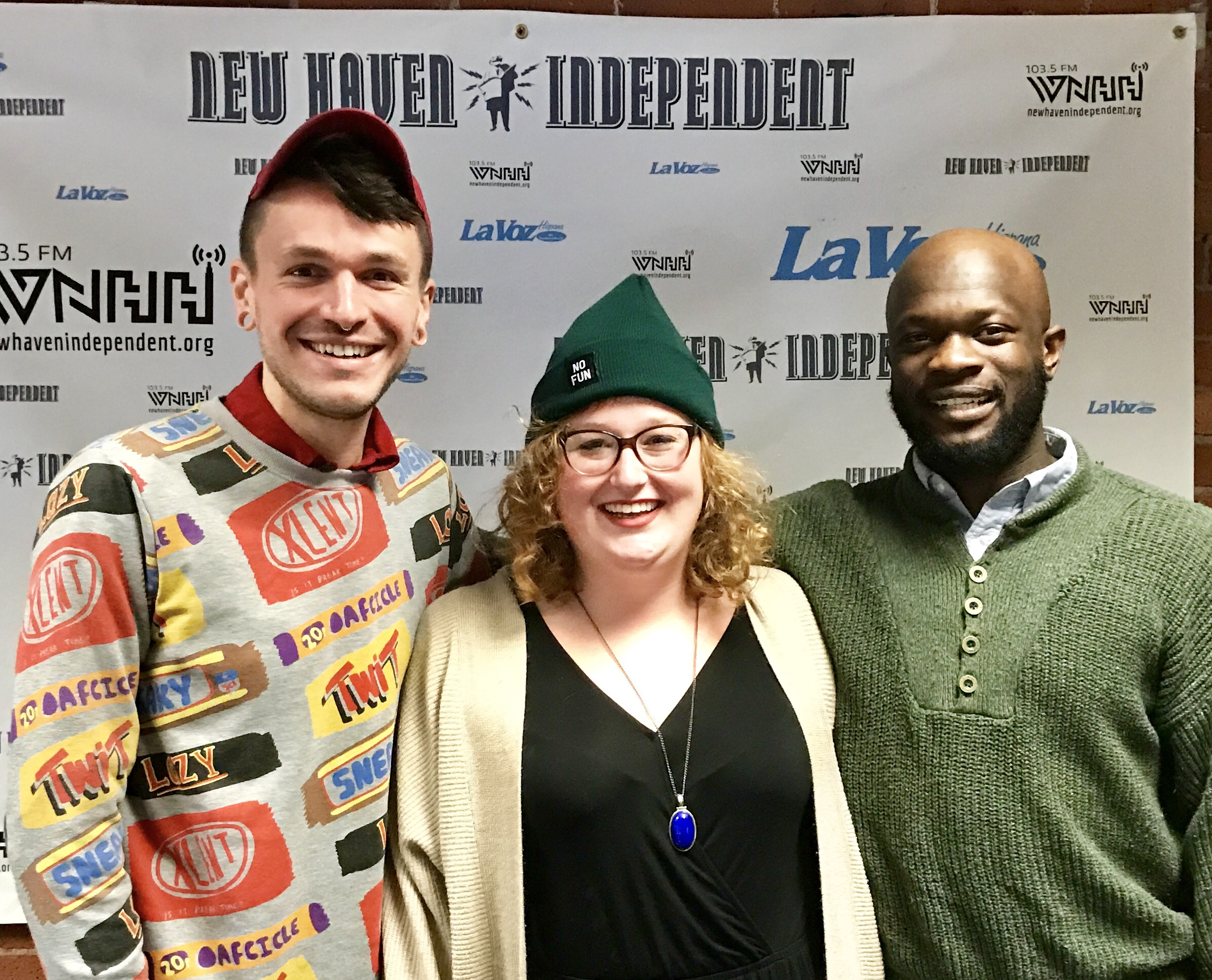 """Today on """"Grounded, A Humanist Radio Show"""" host Chris Stedman & Onyeka Obiocha have a fun filled conversation about music, movies, and the Long Wharf Theatre with guest Elizabeth Nearing, Community Engagement Manager of Long Wharf Theatre."""