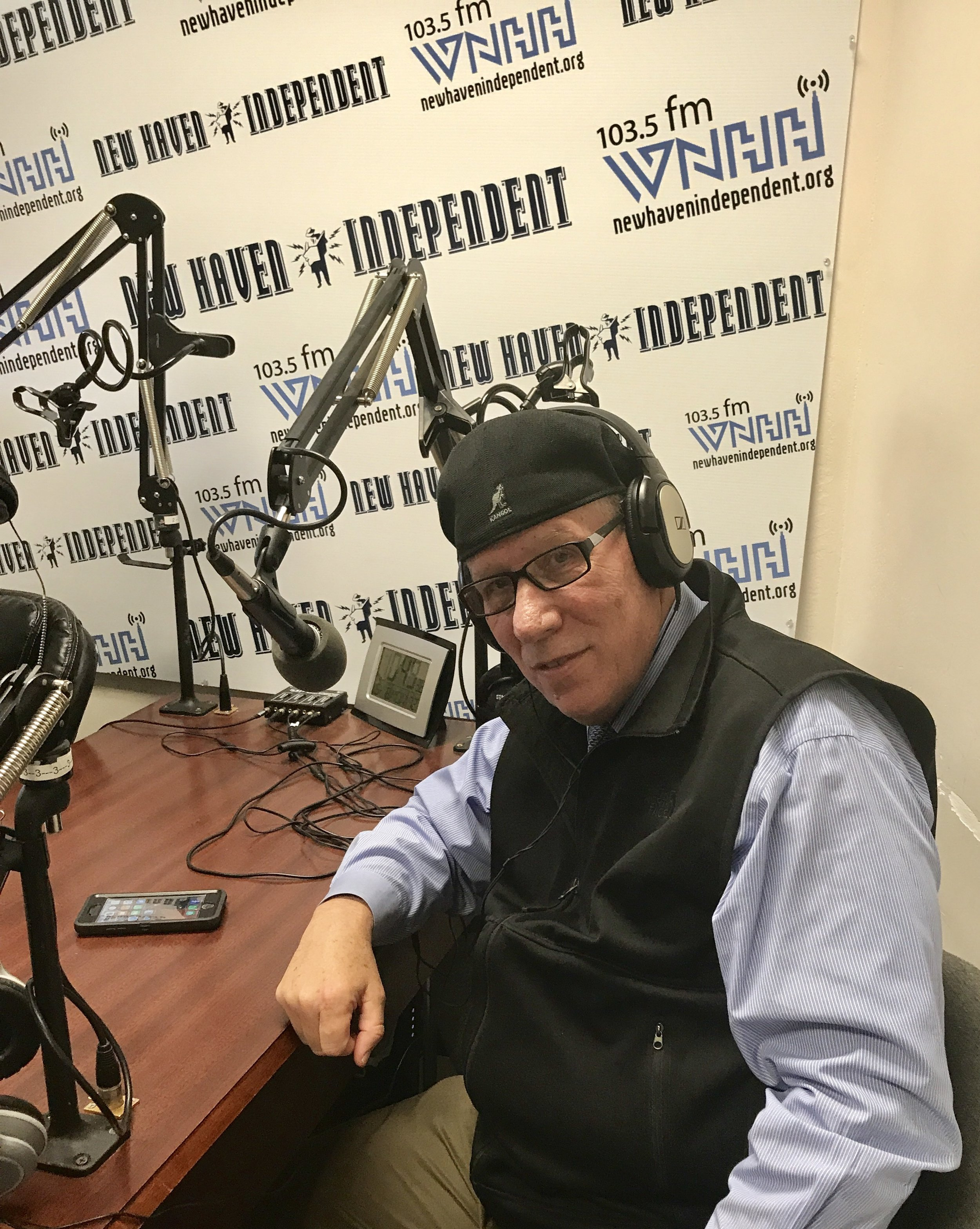 """Today on """"The Tom Ficklin Show"""" host Tom Ficklin talks with Jesse """"The Walking Man"""" Turner about his 2015 walk from Connecticut. He walked in order to raise awareness of the nations poor public schools, and to support parents, teachers and children."""