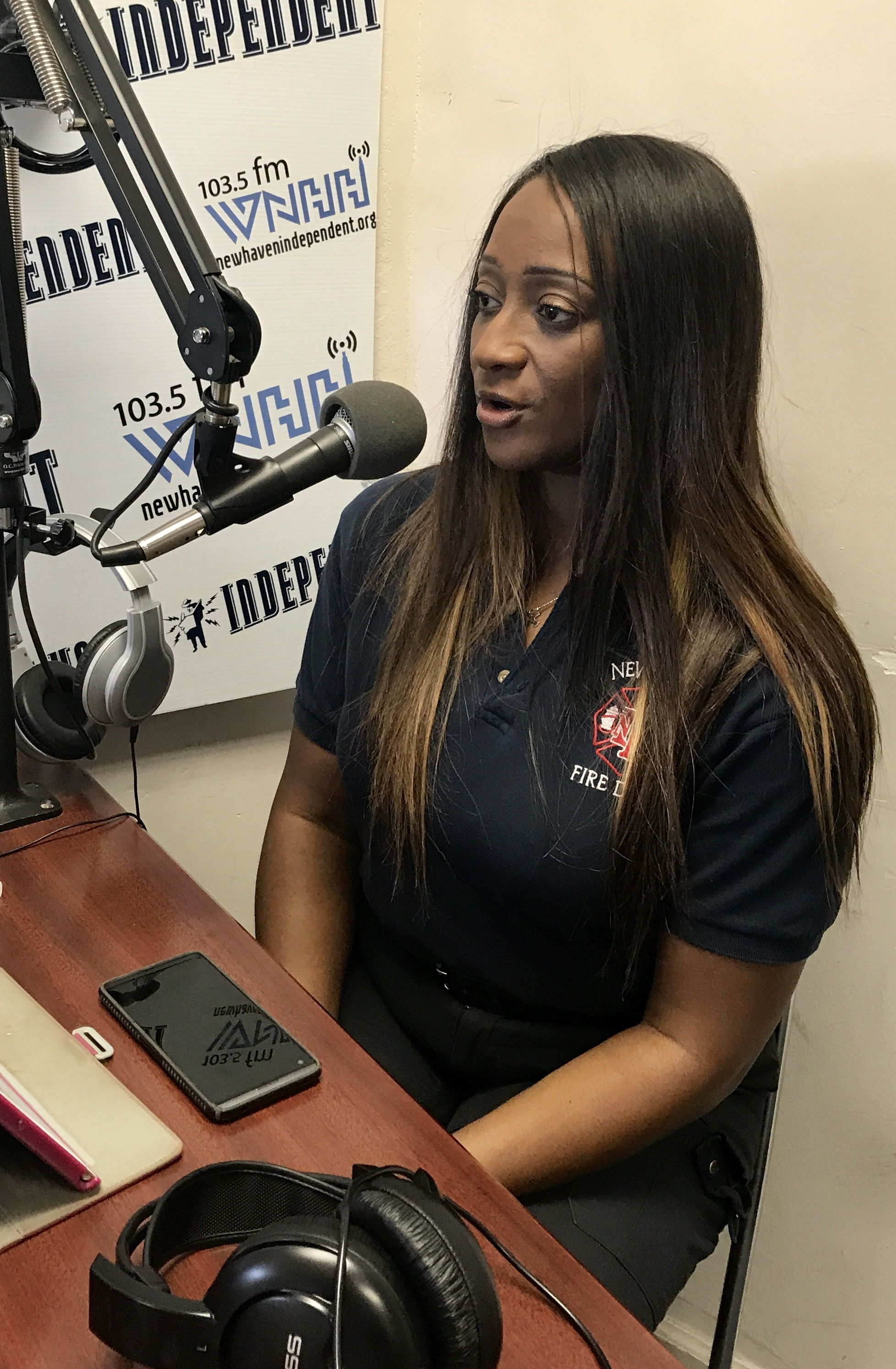 """Today on """"Alisa's Culture Cocktail"""" host Alisa Bowens-Mercado talks to her guest Erica Bogan about the life of a firefighter, and what it takes to become one."""