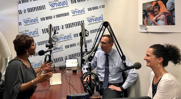 """Today on """"The Show"""" host Michelle Turner talks with Andy Orfice, Program Coordinator, Community & Government Relations Gina Smith, Community Health Improvement Co-ordinator Both are from: YALE-NEW HAVEN HEALTH  'Shout Out to Keisha Smalls'"""
